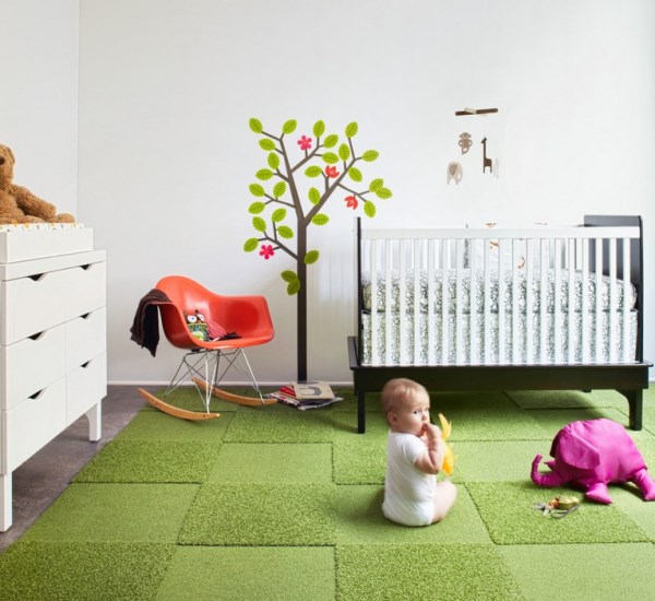 FLOR Carpet Tiles Bring Modular Flooring Ho