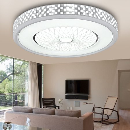 LED Ceiling Light,12W 1200LM Round Flush Mount Fixture Lamp for .