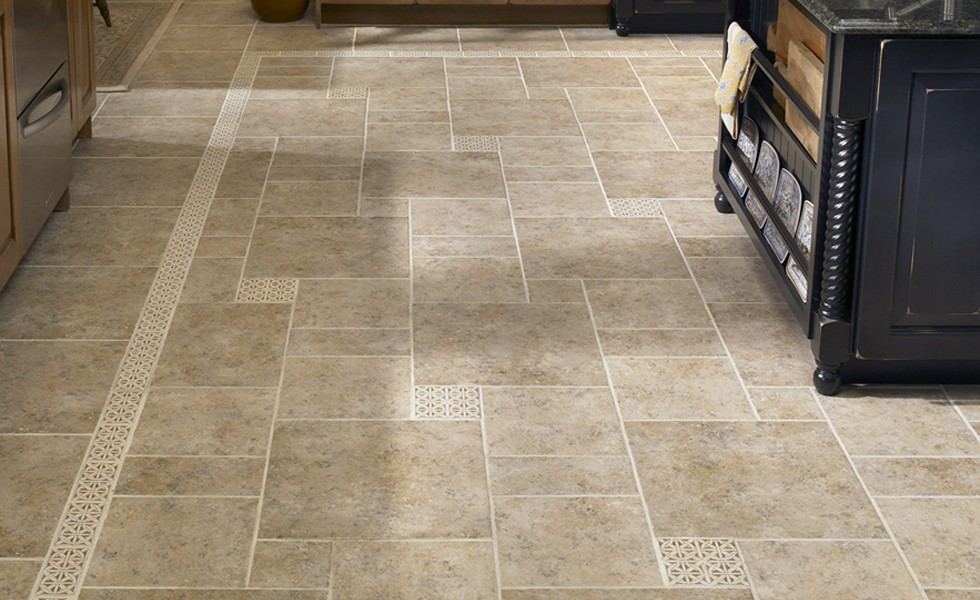 kitchen porcelain tile floor ideas - Kitchen Tile Floor Ideas .