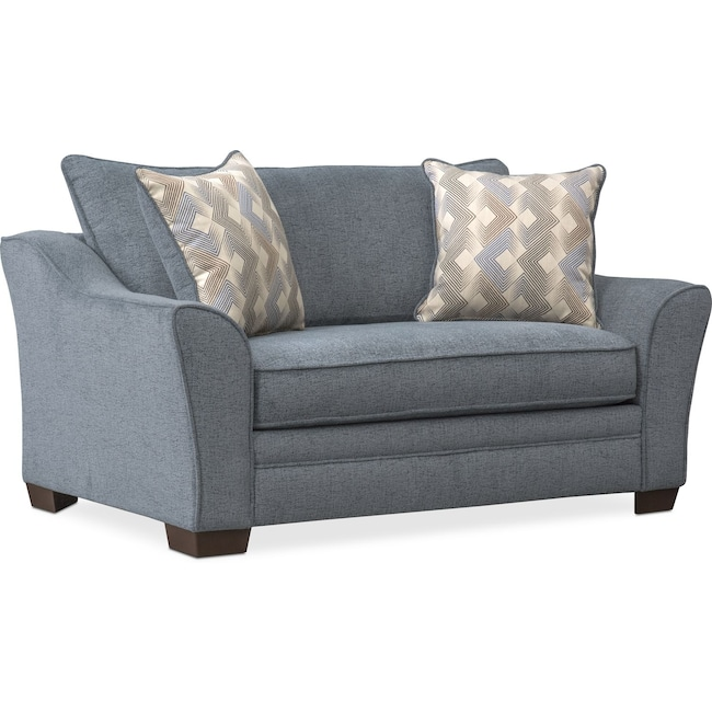 Trevor Twin Sleeper Chair and a Half   Value City Furniture and .