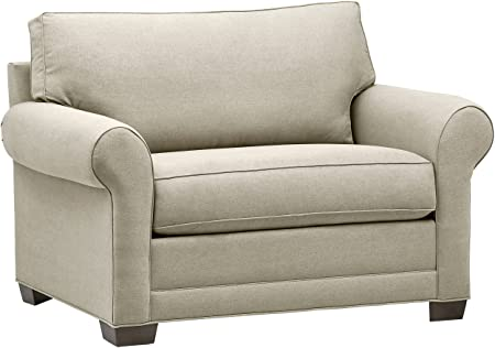 Amazon.com: Stone & Beam Kristin Chair-and-a-Half Upholstered .
