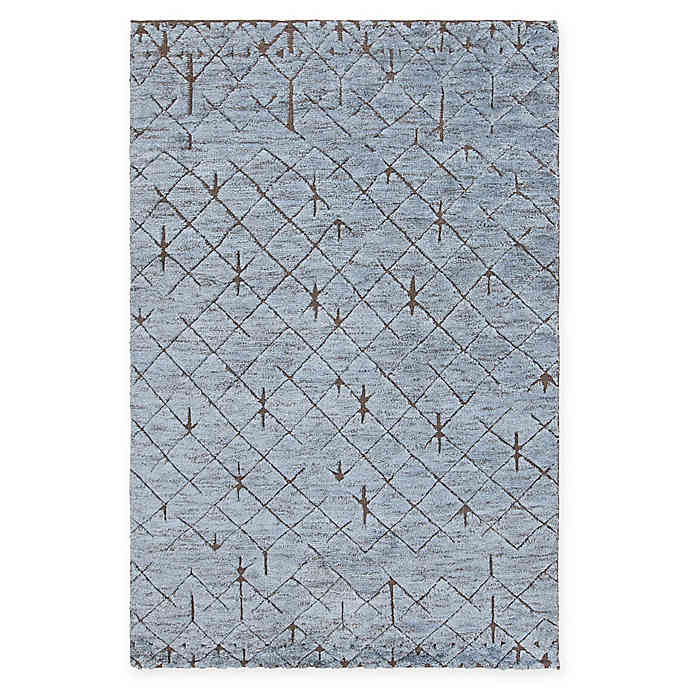 Chandra Rugs Genna Hand-Knotted Area Rug | Bed Bath & Beyo