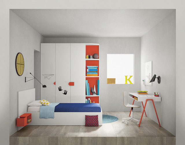 Contemporary Children's bedroom furniture from Go Modern .