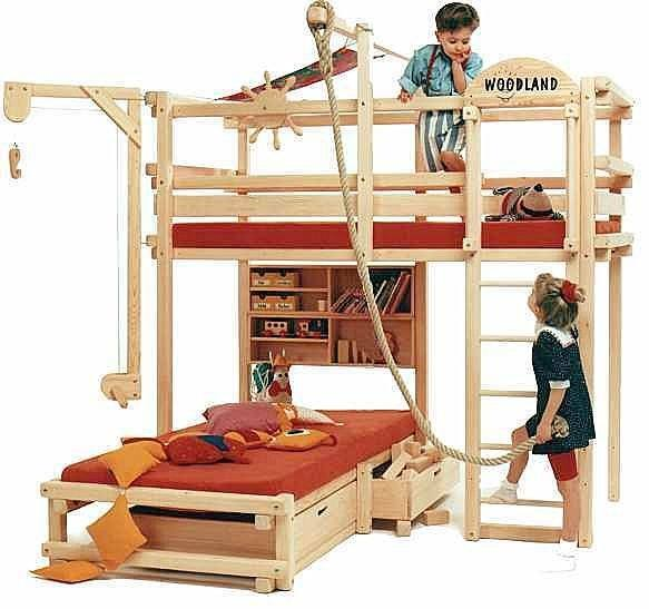 Bunk Beds For Kids – Safe, Stylish Space-Savers … And Lots Of Fun .
