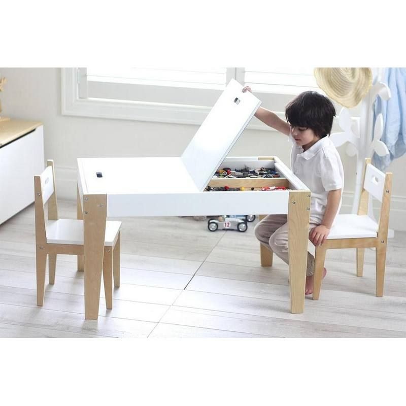 Benji Activity Table & 2 Chair Set in 2020   Kids table with .