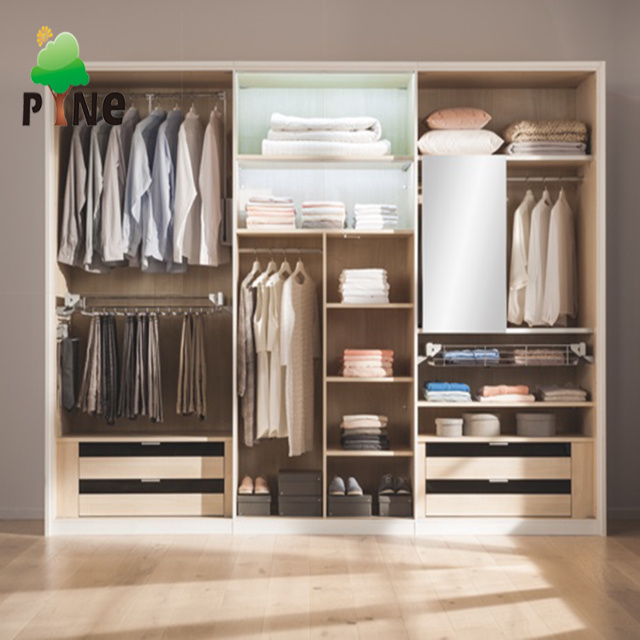 China Open Style Walk-in Closet Designs Bedroom Wardrobe for Sale .