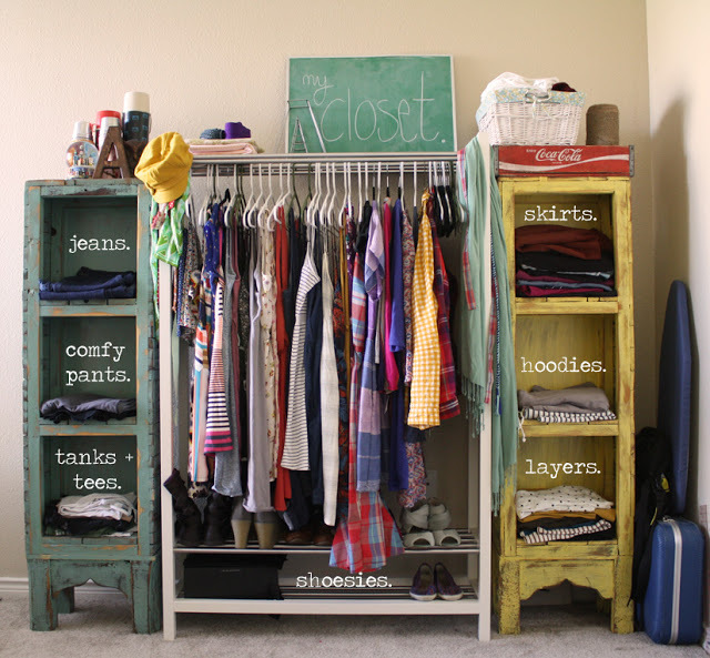 10 Clothing Storage Solutions…Perfect for Every Space | RECLAIMING .