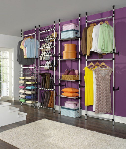 14 Lovely DIY Clothing Storage Ideas That Will Make You More Spa