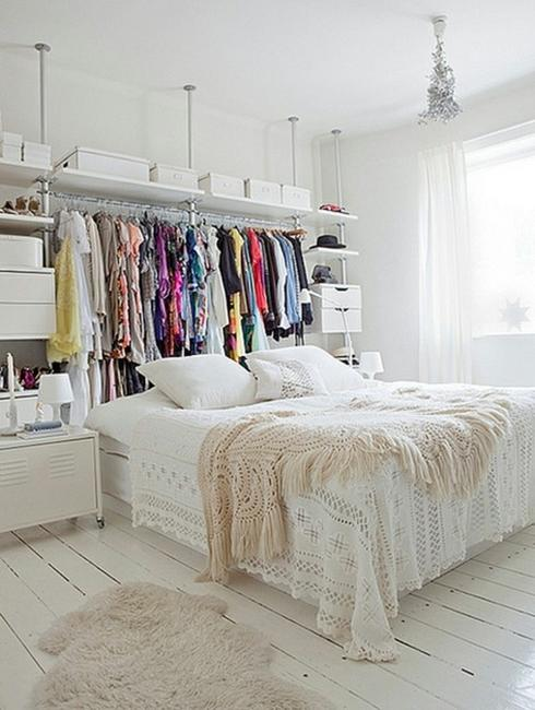 How to Organize Storage in Small Bedroom, 20 Small Closet Ide