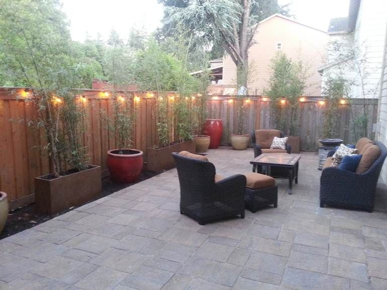 A Before and After of a Great Paver Patio Project | Concrete .