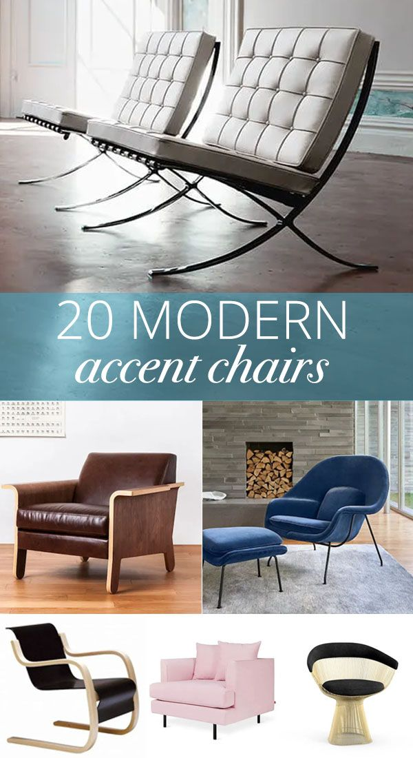 Modern Accent Chairs That Add Pizzazz | Chair, Accent chairs .