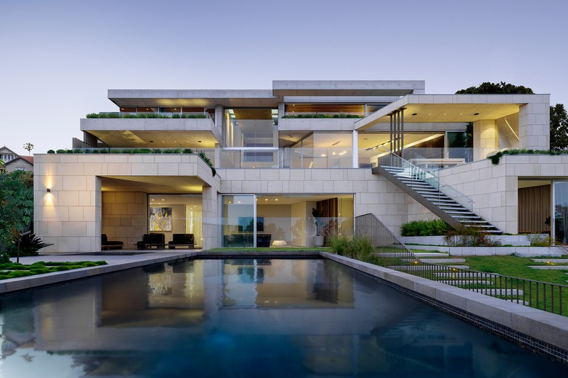 Contemporary Architecture Project with Stunning Sydney View by SAO