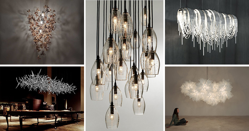 11 Contemporary Chandeliers That Make A Stateme