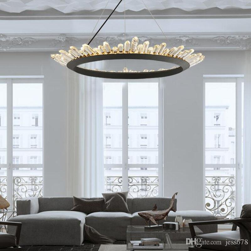 Modern Crystal Chandelier Contemporary Chandeliers Lamp For .