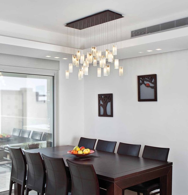 Drops Chandelier - Contemporary - Dining Room - Los Angeles - by .