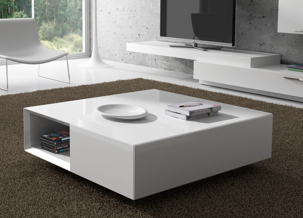 Multifunctional Contemporary Coffee Table With Stora