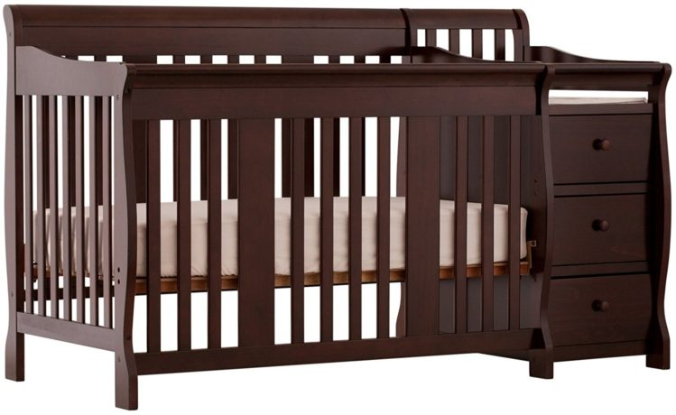 Convertible Baby Cribs With Attached Changing Tables - Baby Crib 1