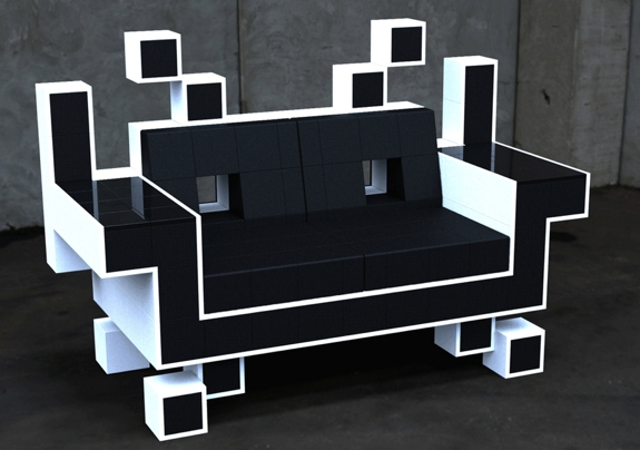 5 Creative Pieces of Geek Furniture | Spot Cool Stuff: Desi