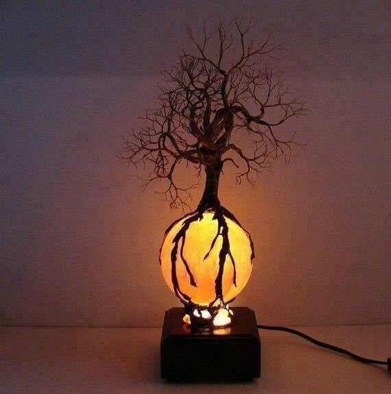 Cool lamps: an important part of house décor | Tree lamp, Cool .