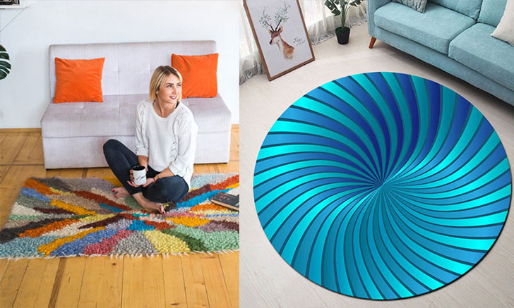 31 Coolest Bedroom Rugs & Carpets   Awesome Stuff 3