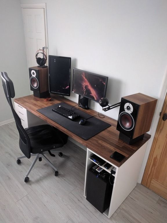 DIY Computer Desk Ideas Space Saving (Awesome Picture)   Computer .