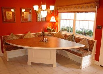 Kitchen Booth Design Ideas, Pictures, Remodel, and Decor - page 2 .