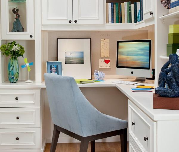 30 Corner Office Designs and Space Saving Furniture Placement Ide