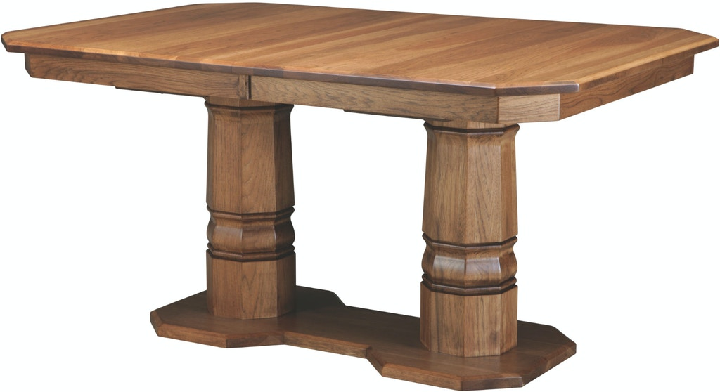 Palettes by Winesburg Dining Room Clipped Corner Table Top 3636H0 .