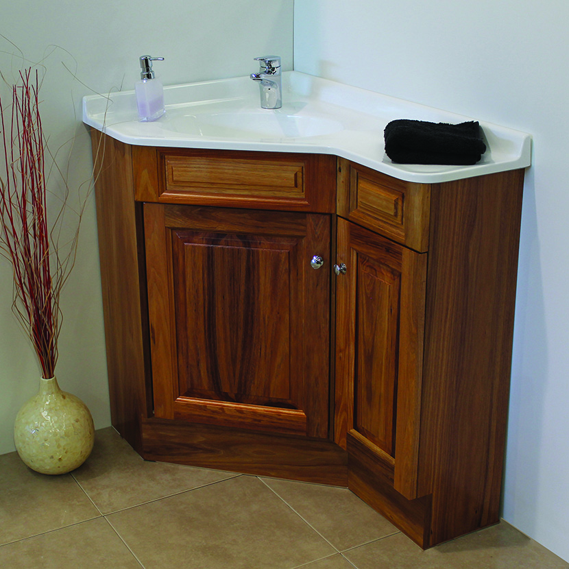 Corner Bathroom Cabinet: Useful for Small Space — Office PDX Kitch