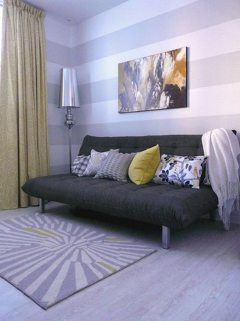 Ministry of Deco - I love this couch! | Guest bedroom office .