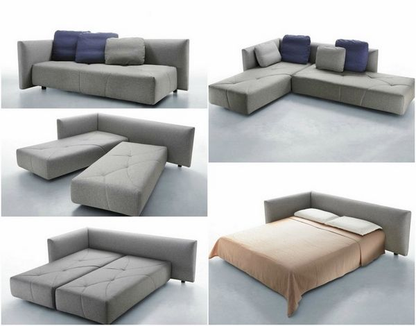 latest sofa bed ideas trendy gray modular sofa bed double bed .