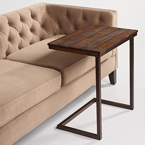 Amazon.com: Wood Laptop Table for Couch Recliner and Sofa - Slide .