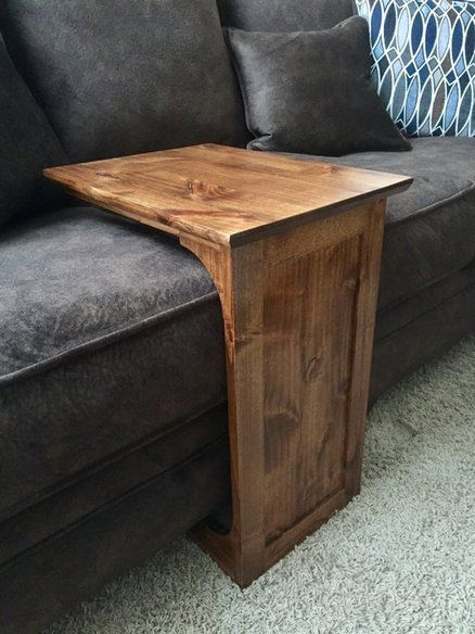 DIY Sofa Table | Diy sofa table, Diy sofa, Woodworking projects d
