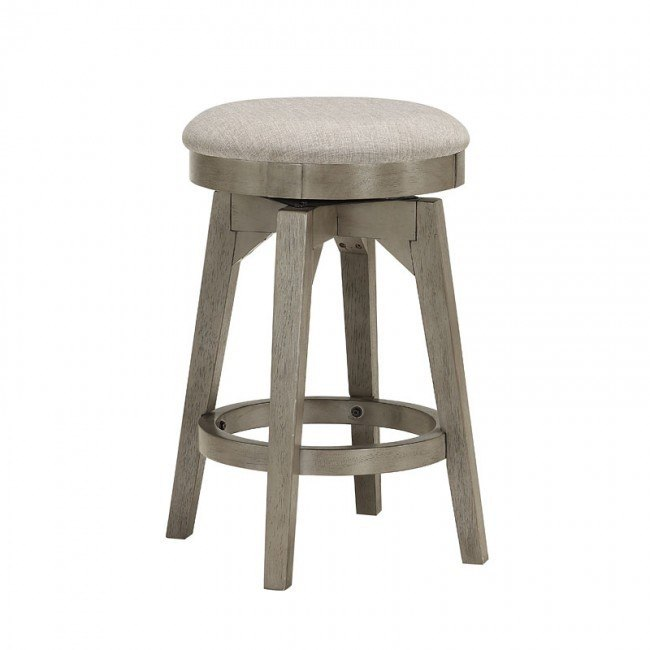 Pine Crest Counter Height Backless Swivel Stool (Set of 2) by ECI .