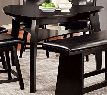 Amazon.com - Furniture of America CM3433PT Hurley Counter Height .