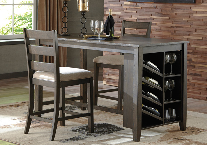 Counter Height Dining Table With Storage