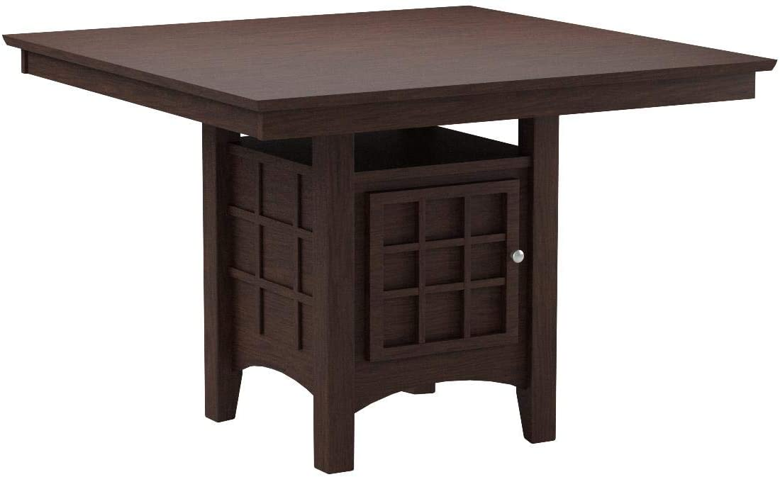 Amazon.com - Mix & Match Counter-Height Dining Table with Storage .