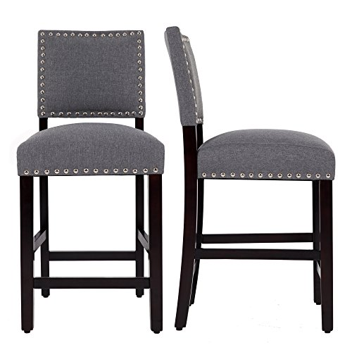 Amazon.com: DAGONHIL 24 Inches Counter Height Bar Stools with .