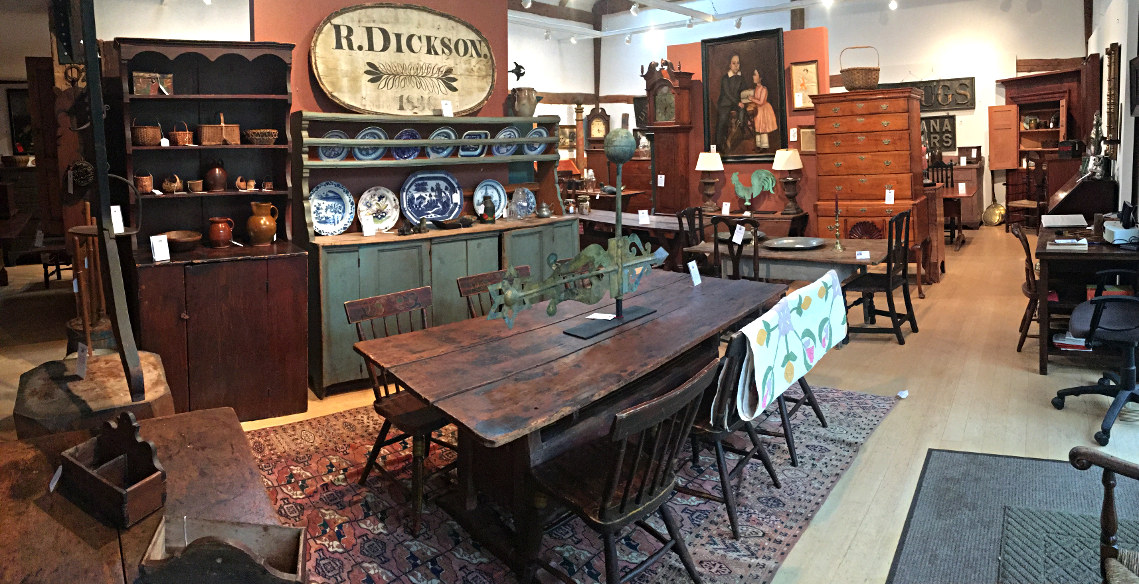American Country Furniture, Folk Art, Paintings & Accessories .