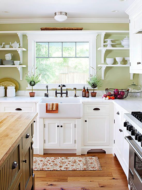 25+ Beautiful Country Kitchens to Copy ASAP   Country kitchen .