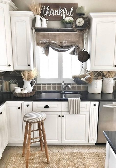 38 Dreamiest Farmhouse Kitchen Decor and Design Ideas to Fuel your .