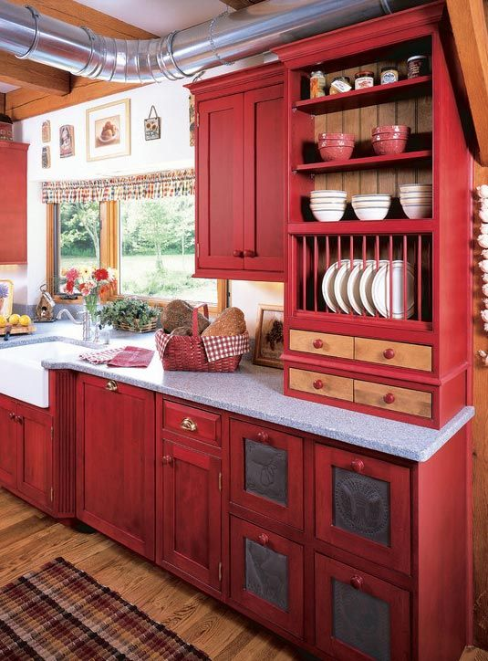 Painted Cabinets: 14 Reasons to Transform Yours Now | Country .