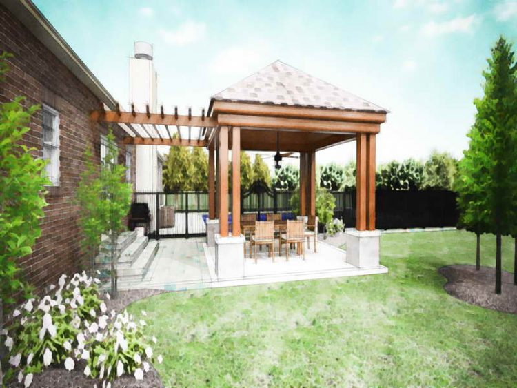 20 Beautiful Covered Patio Ide