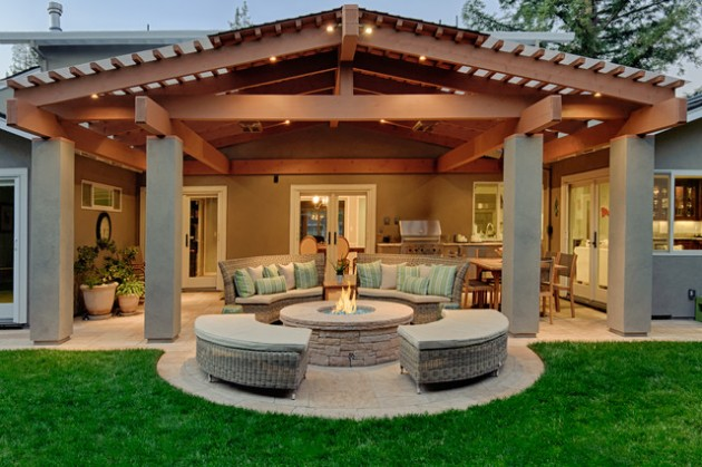 18 Majestic Covered Patio Design Ideas To Enjoy In The Hot Summer Da