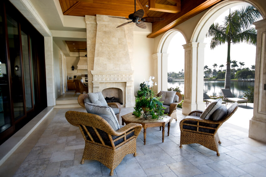 55 Luxurious Covered Patio Ideas (Picture
