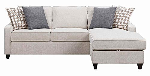 Amazon.com: Montgomery Sectional Sofa with Track Arms and Chaise .