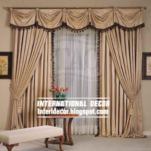 THIS Top 10 curtain designs and unique draperies designs, colors .