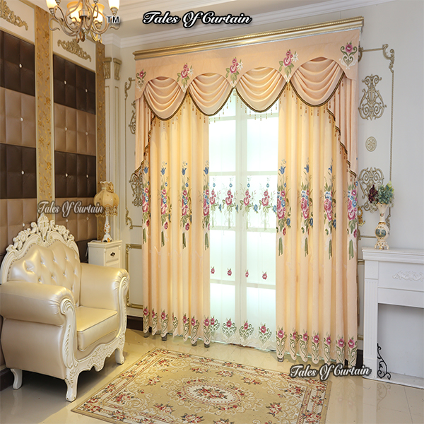 New Curtain Designs With Most Expensive Curtains Embroidery Fabric .
