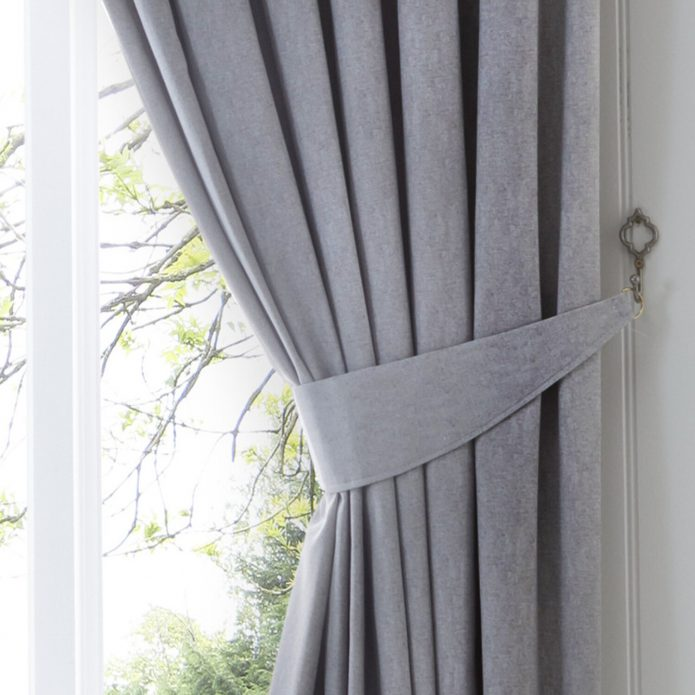 Curtain: Unique Curtain Accessories Ideas With Curtain Tiebacks .