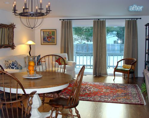 Don't withhold the bold | Glass door curtains, Sliding glass door .